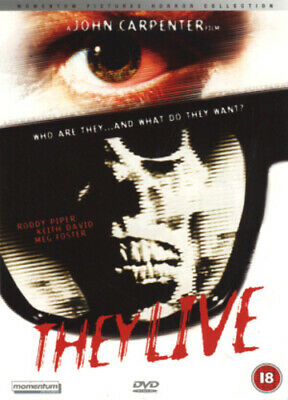 They Live DVD (2002) Roddy Piper