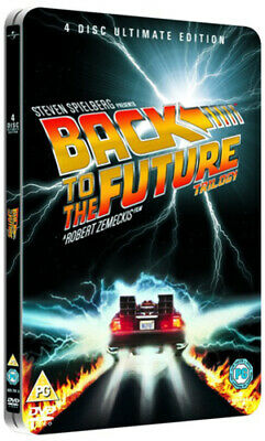 Back to the Future Trilogy DVD (2008) Michael J. Fox