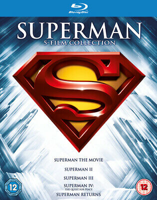 Superman Complete Collection  DVD Blu-ray