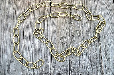 1 Metre Length Of Aged Brass Chain Light Chandelier Hanging Pull Chain Slc1