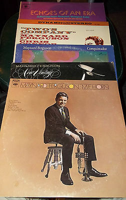 Lot Of 5 Collectible Maynard Ferguson Lp Records - M.f. Horn,new Vintage,conquis
