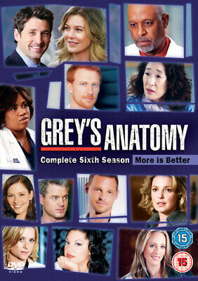 Grey's Anatomy: Complete Sixth Season DVD (2011) Ellen Pompeo