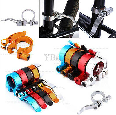 Aluminium Alloy Quick Release Seatpost Clamps For Cycling Bicycle Mountain Bike