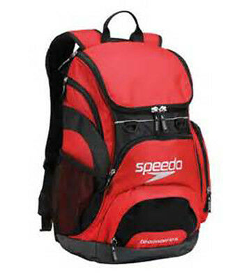 New Speedo Swimmer Swimming Backpack Teamster Backpack 35 L Available 5 Colors