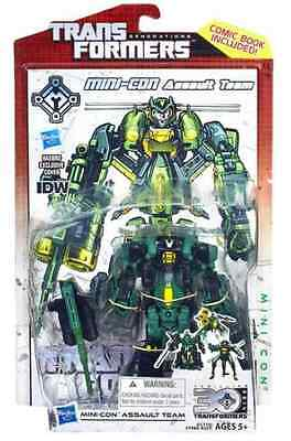 Transformers Generation Deluxe Figure 30Th Anniversary Mini-Con Assault Team