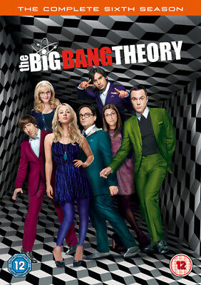 The Big Bang Theory: The Complete Sixth Season DVD (2013) Johnny Galecki