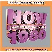 Various Artists : Now Thats What I Call Music 1980 - Mille CD