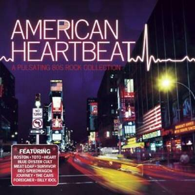 Various Artists : American Heartbeat - A Pulsating 80's Rock Collection CD