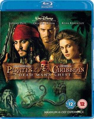 Pirates of the Caribbean: Dead Man's Chest Blu-ray (2007) Johnny Depp