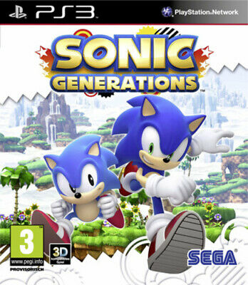PlayStation 3 Sonic Generations (PS3) VideoGames