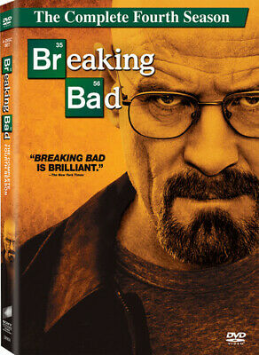 Breaking Bad: The Complete Fourth Season DVD Incredible Value and Free Shipping!