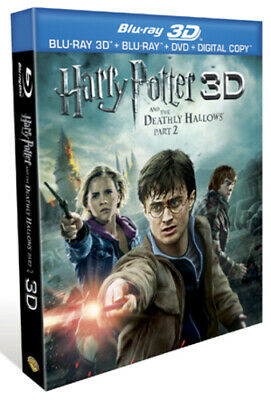 Harry Potter and the Deathly Hallows: Part 2 Blu-ray (2011) Daniel Radcliffe,