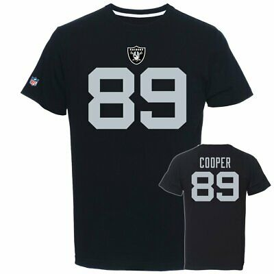 NFL Kinder Youth T-Shirt OAKLAND RAIDERS Amari Cooper 89 Football Trikot Jersey
