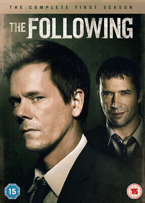 The Following: The Complete First Season DVD (2013) Kevin Bacon cert 15 4 discs