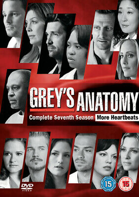 Grey's Anatomy: Complete Seventh Season DVD (2012) Ellen Pompeo