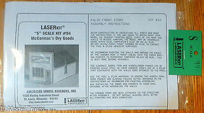 "American Model Builders #94 McCormac's Dry Goods -- 7 x 3 1/2 x 3 1/2"" (S Scale)"