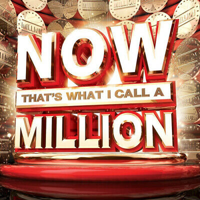 Various Artists : Now That's What I Call a Million CD 3 discs (2014) Great Value