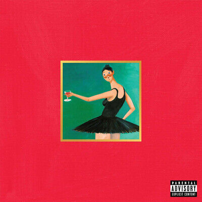Kanye West : My Beautiful Dark Twisted Fantasy CD (2010)
