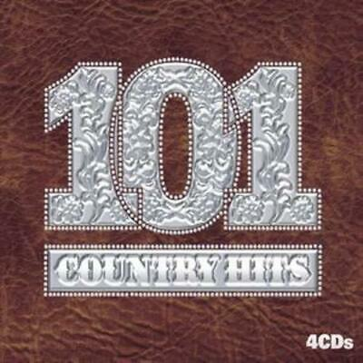 Various Artists : 101 Country Hits CD 4 discs (2007) FREE Shipping, Save £s