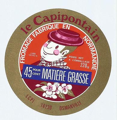Calvados Etiquette  Fromage Capipontain  Osmanville
