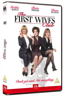 The First Wives Club DVD (2000) Goldie Hawn, Wilson (DIR) cert PG Amazing Value