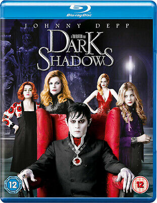 Dark Shadows Blu-Ray (2012) Johnny Depp