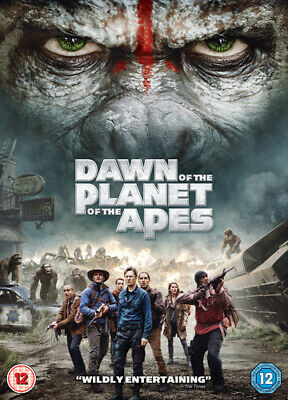 Dawn of the Planet of the Apes DVD (2014) Andy Serkis