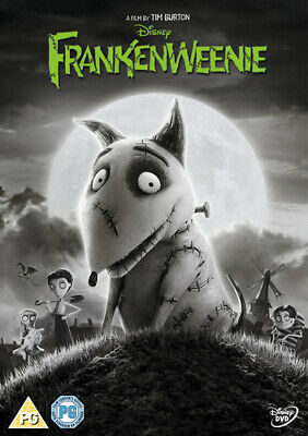 Frankenweenie DVD (2013) Tim Burton cert PG Incredible Value and Free Shipping!