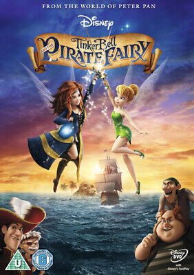 Tinker Bell and the Pirate Fairy DVD (2014) Peggy Holmes