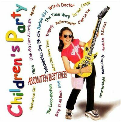 Various : Childrens Party! 20 Great Pop Songs CD Expertly Refurbished Product