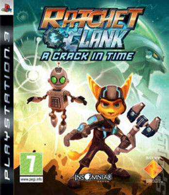 Ratchet & Clank: A Crack in Time (PS3) VideoGames