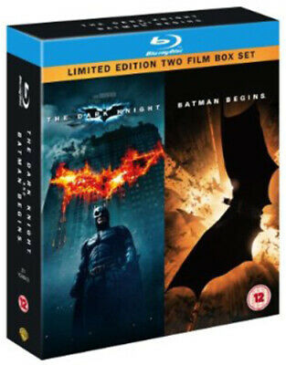 Batman Begins/The Dark Knight Blu-ray (2008) Christian Bale