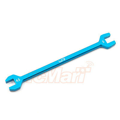 Yeah Racing Aluminum Turnbuckle Wrench 4.5mm 5mm Blue EP 1:10 RC Cars #YT-0139BU