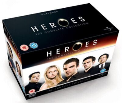 Heroes: The Complete Collection DVD (2010) Hayden Panettiere