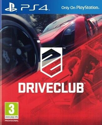 DRIVECLUB (PS4) VideoGames