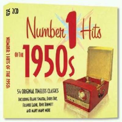 Various Artists : Number 1 Hits of the 1950s CD (2008)