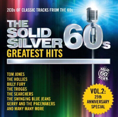 Various Artists : The Solid Silver 60s: Greatest Hits - Volume 2 CD Box Set 2