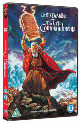 The Ten Commandments DVD (2001) Charlton Heston
