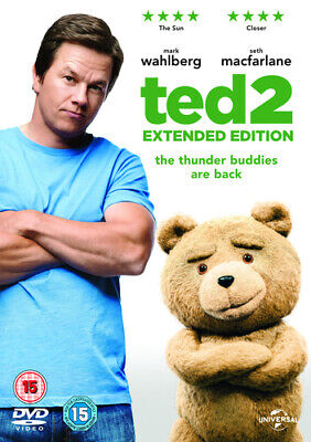 Ted 2 - Extended Edition DVD (2015) Mark Wahlberg, MacFarlane (DIR) cert 15