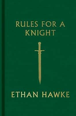 Rules for a Knight by Ethan Hawke (English) Hardcover Book Free Shipping!