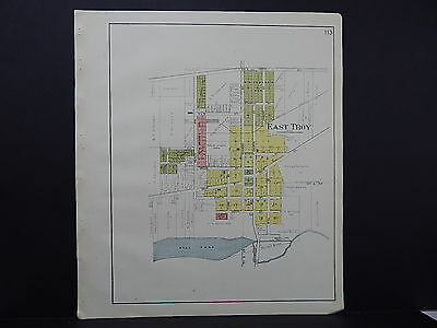 Wisconsin, Walworth County Plat Map, 1921, City of East Troy L20#38