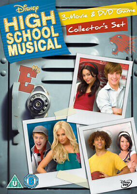 High School Musical 1-3 DVD (2009) Zac Efron, Ortega (DIR) cert U 3 discs