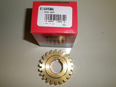 OEM Worm Gear 51405 51405MA SnowThrower 2 Stage snowblower used on Craftsman