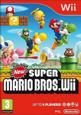 New Super Mario Brothers (Wii) Nintendo Wii