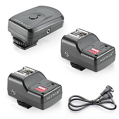 Neewer Wireless Remote Flash Speedlite Trigger 2 Receiver f Canon 580EX II 430EX