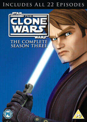 Star Wars - The Clone Wars: The Complete Season Three DVD (2011) George Lucas