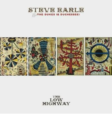 Steve Earle & The Dukes (& Duchesses) : The Low Highway CD Album with DVD 2