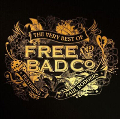 Free : The Very Best of Free and Bad Company Featuring Paul Rodgers CD (2010)
