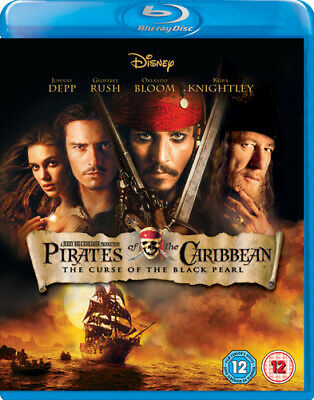 Pirates of the Caribbean: The Curse of the Black Pearl Blu-ray (2007) Johnny