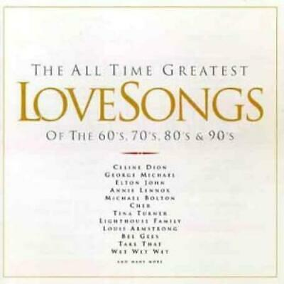 Various Artists : The All Time Greatest Love Songs of the CD